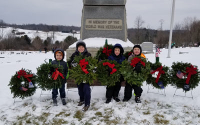 SFS Honors Veterans through Wreaths Across America